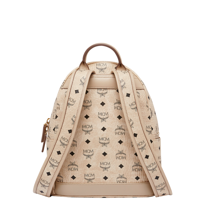 MCM Dual Stark Backpack in Visetos MMK6AVE80IG001 AlternateView4