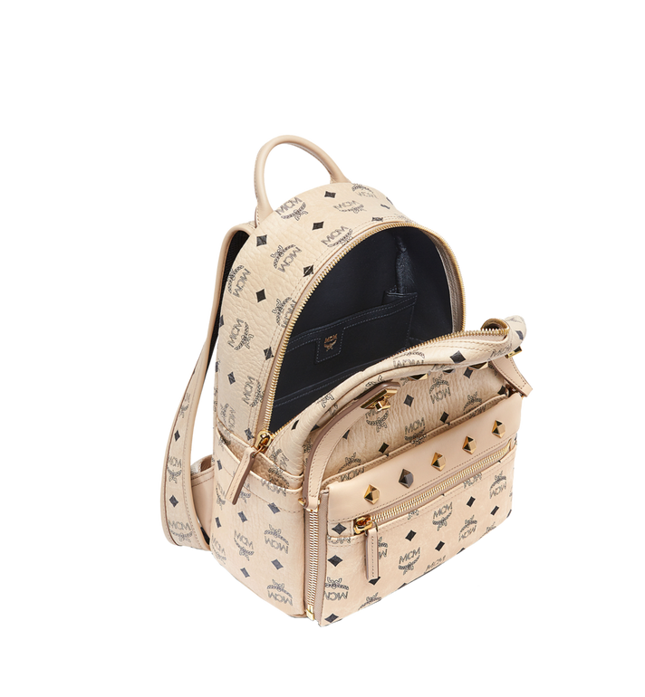 MCM Dual Stark Backpack in Visetos MMK6AVE80IG001 AlternateView7