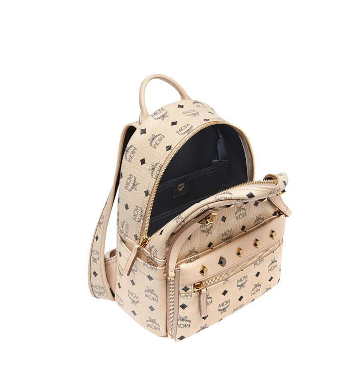 MCM Dual Stark Backpack in Visetos MMK6AVE80IG001 AlternateView8