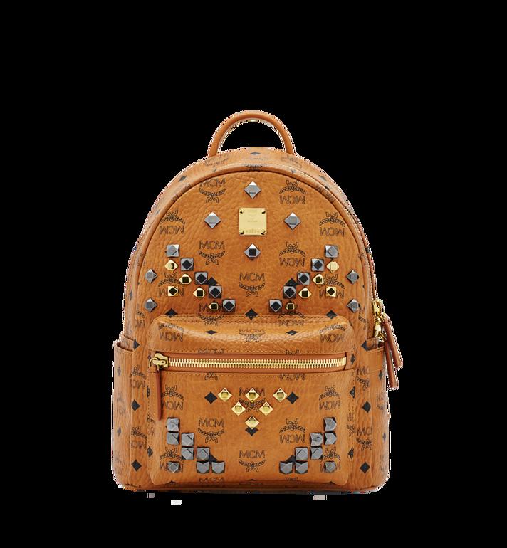 MCM Stark M Studs Backpack in Visetos Alternate View