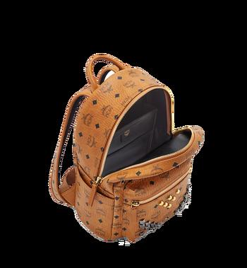 MCM Stark M Studs Backpack in Visetos Alternate View 5
