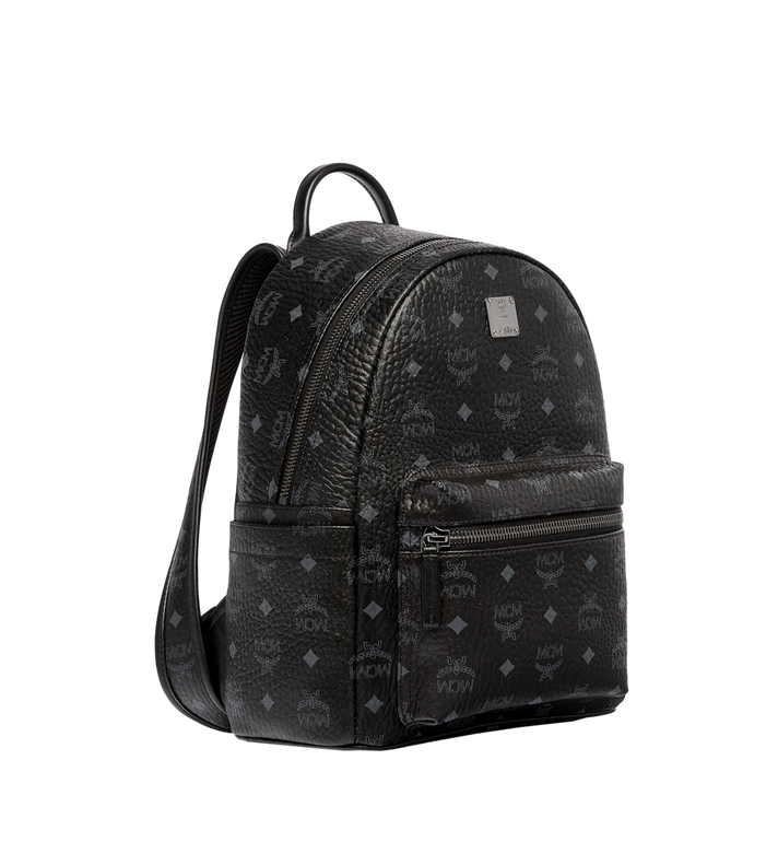 MCM Stark Classic Backpack in Visetos MMK6SVE26BK001 AlternateView2
