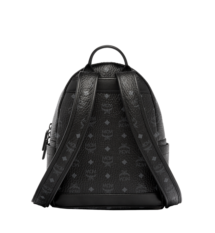 MCM Stark Classic Backpack in Visetos MMK6SVE26BK001 AlternateView4
