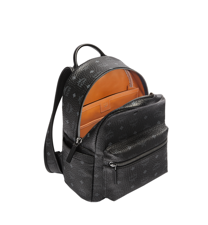 MCM Stark Classic Backpack in Visetos MMK6SVE26BK001 AlternateView5