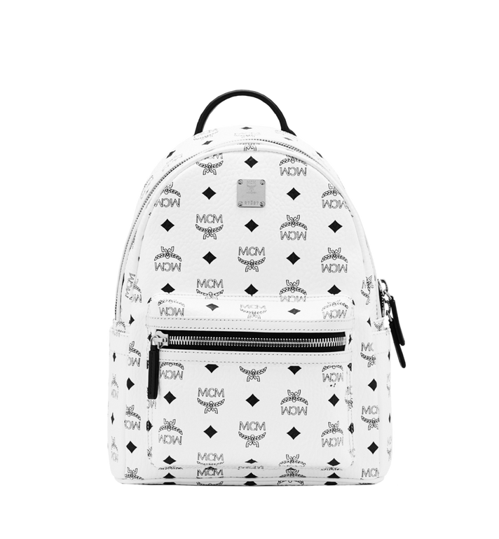 MCM Stark Classic Backpack in Visetos Alternate View