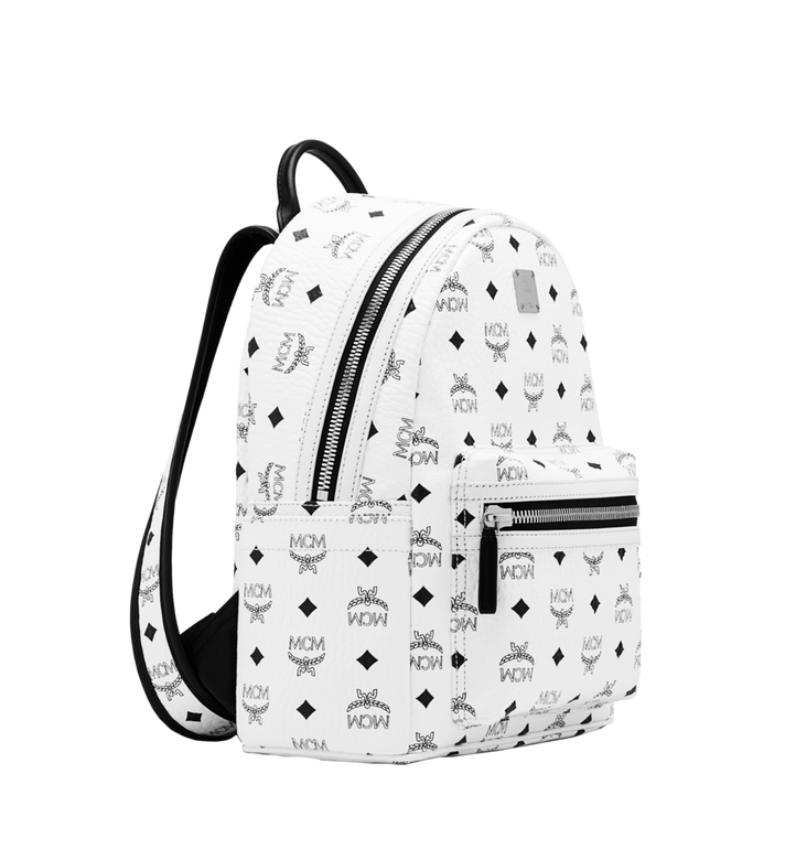 MCM Stark Classic Backpack in Visetos Alternate View 2