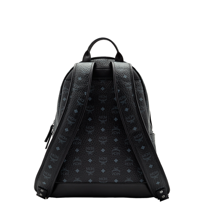 MCM Stark Classic Backpack in Visetos Black MMK6SVE28BK001 Alternate View 4