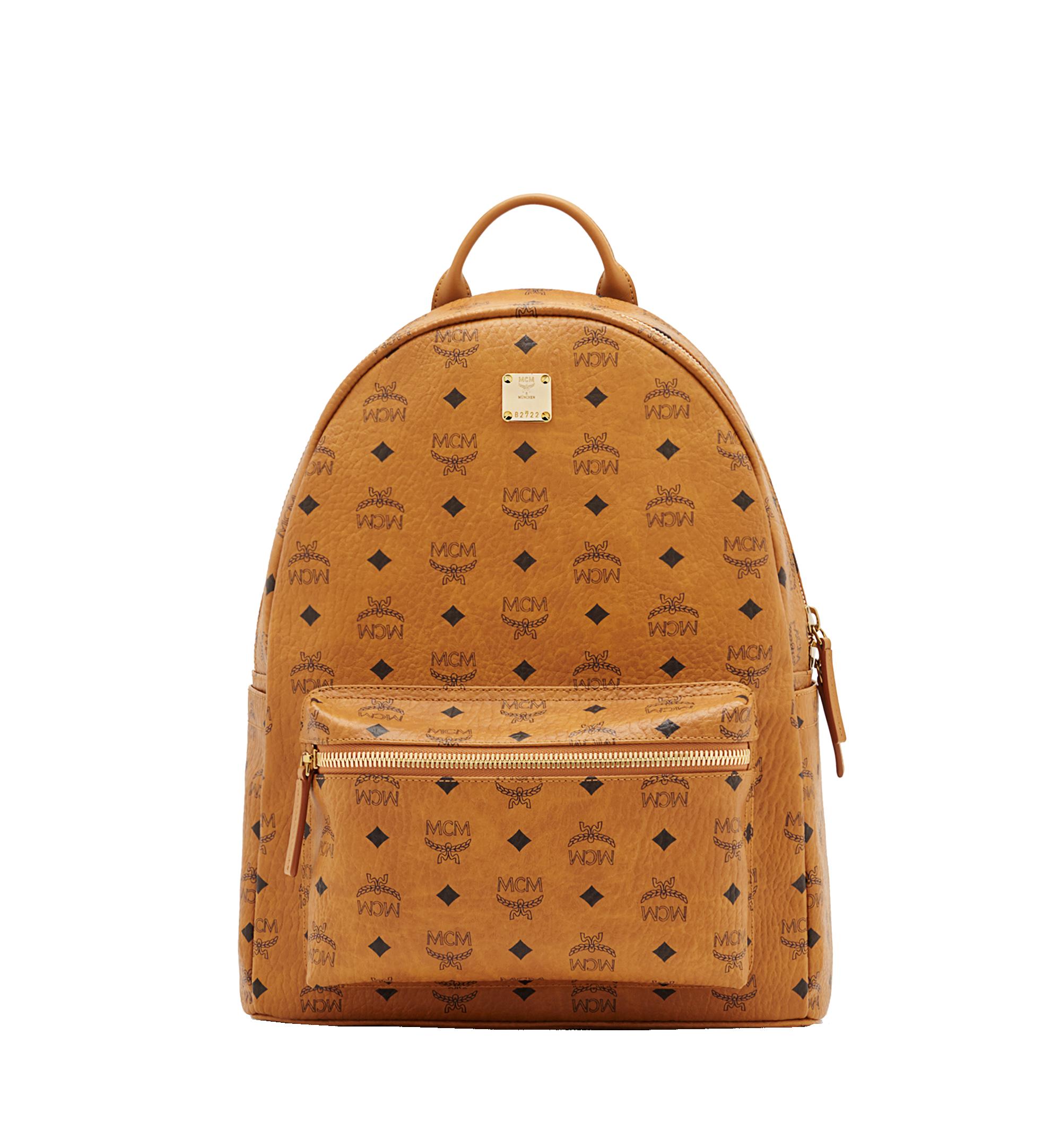 05be84790df4 40 cm / 16 in Stark Classic Backpack in Visetos Cognac   MCM