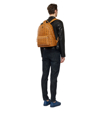 MCM Stark Classic Backpack in Visetos MMK6SVE28CO001 AlternateView6