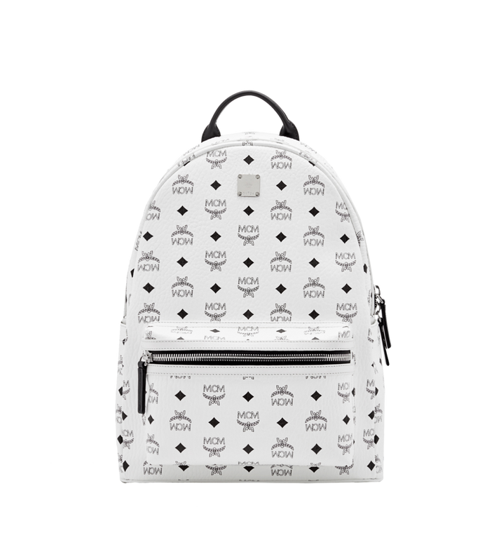 MCM Stark Classic Backpack in Visetos MMK6SVE28WT001 AlternateView1