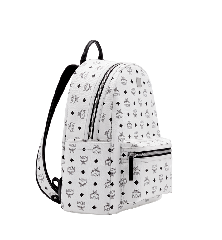 MCM Stark Classic Backpack in Visetos MMK6SVE28WT001 AlternateView2