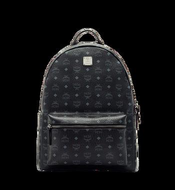 MCM Stark Classic Backpack in Visetos MMK6SVE29BK001 AlternateView