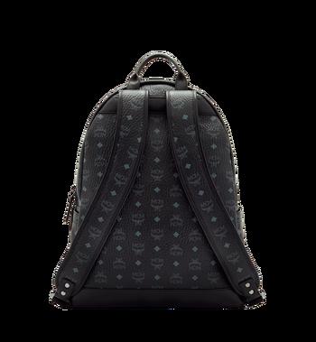 MCM Stark Classic Backpack in Visetos MMK6SVE29BK001 AlternateView4