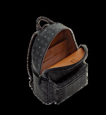 MCM Stark Classic Backpack in Visetos MMK6SVE29BK001 AlternateView5