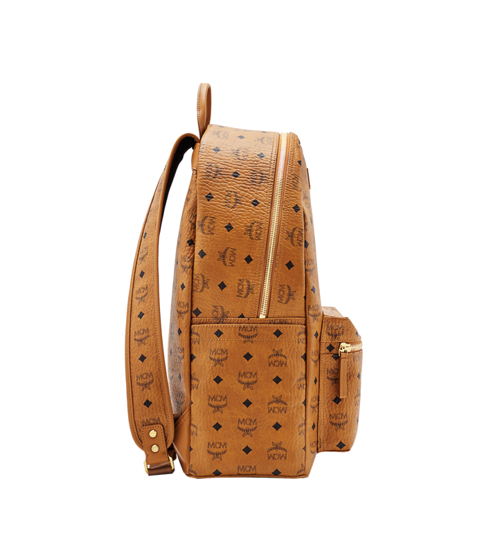 MCM Stark Classic Backpack in Visetos Alternate View 3