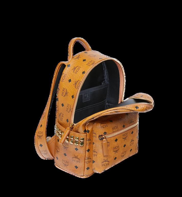 MCM Stark Side Studs Backpack in Visetos Cognac MMK6SVE37CO001 Alternate View 5