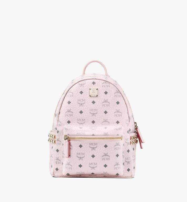 MCM 스타크 비세토스 백팩 Pink MMK6SVE37QH001 Alternate View 1
