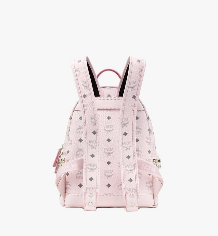MCM 스타크 비세토스 백팩 Pink MMK6SVE37QH001 Alternate View 3