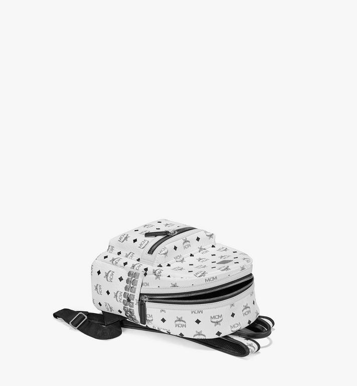 MCM Stark Side Studs Backpack in Visetos MMK6SVE37WT001 AlternateView3