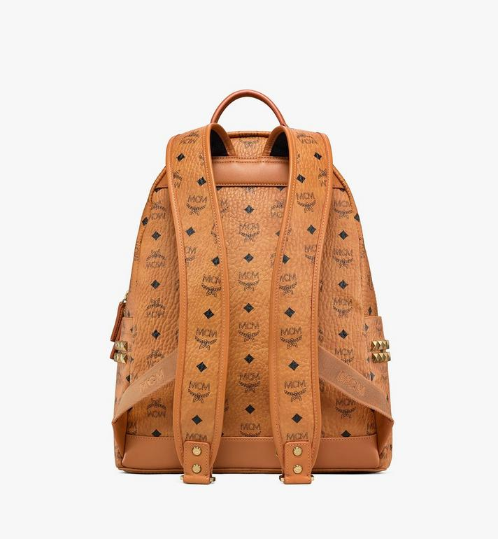 MCM Stark Side Studs Rucksack in Visetos Cognac MMK6SVE38CO001 Alternate View 4