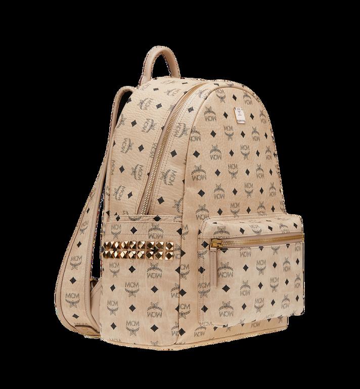MCM Stark Side Studs Backpack in Visetos MMK6SVE38IG001 AlternateView2