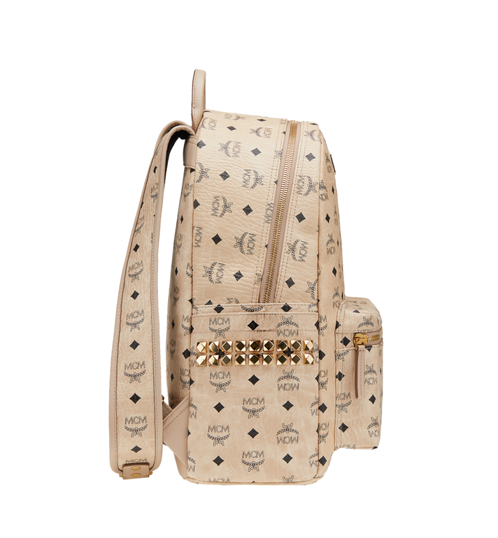 MCM Stark Side Studs Backpack in Visetos AlternateView3
