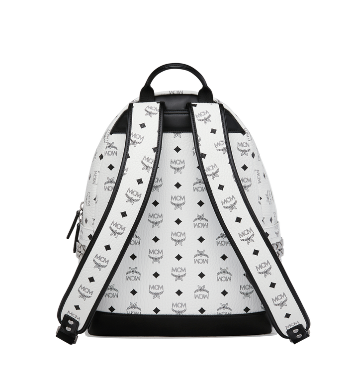 MCM Stark Side Studs Backpack in Visetos MMK6SVE38WT001 AlternateView4