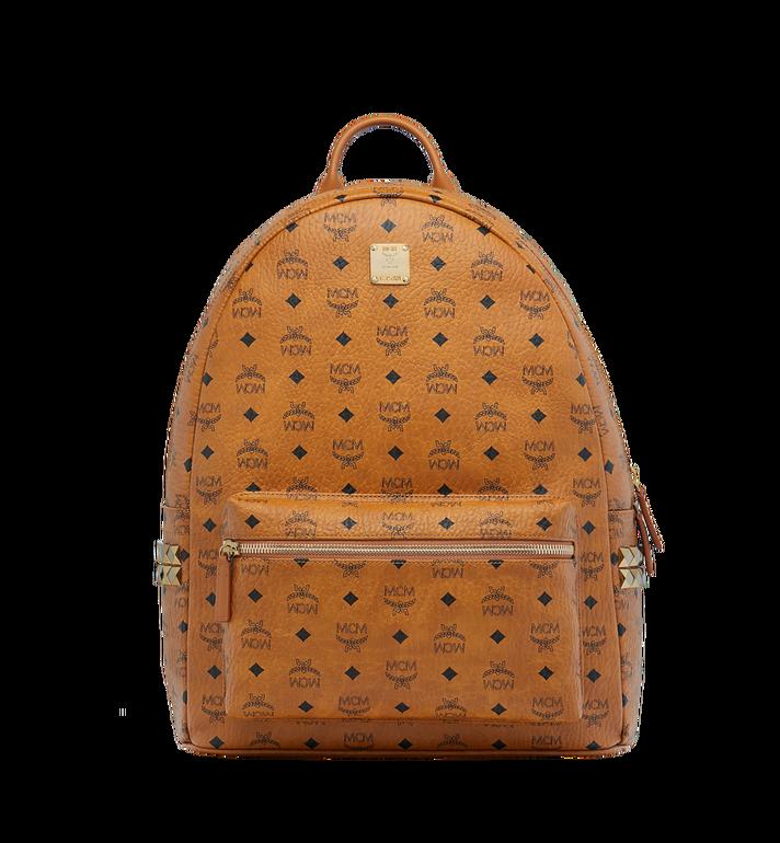 MCM Stark Side Studs Backpack in Visetos MMK6SVE39CO001 AlternateView