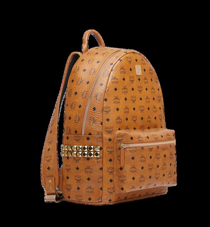 MCM Stark Side Studs Backpack in Visetos MMK6SVE39CO001 AlternateView2