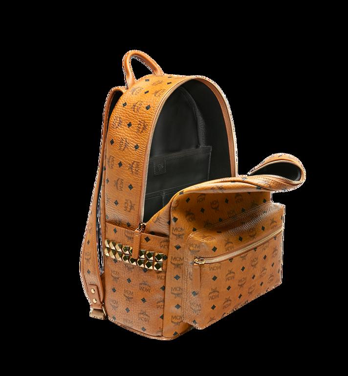MCM Stark Side Studs Backpack in Visetos MMK6SVE39CO001 AlternateView5