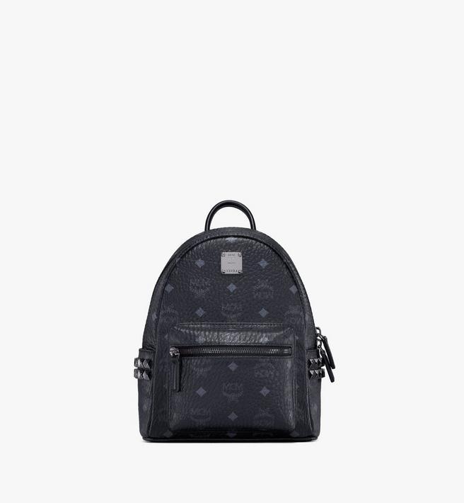 MCM Stark Side Studs Backpack in Visetos Alternate View