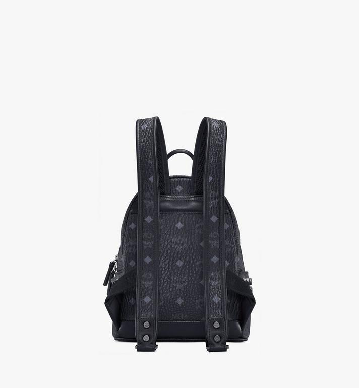 MCM Stark Side Studs Backpack in Visetos Black MMK6SVE41BK001 Alternate View 4