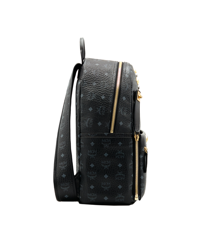 MCM Dual Stark Backpack in Visetos MMK6SVE79BK001 AlternateView3
