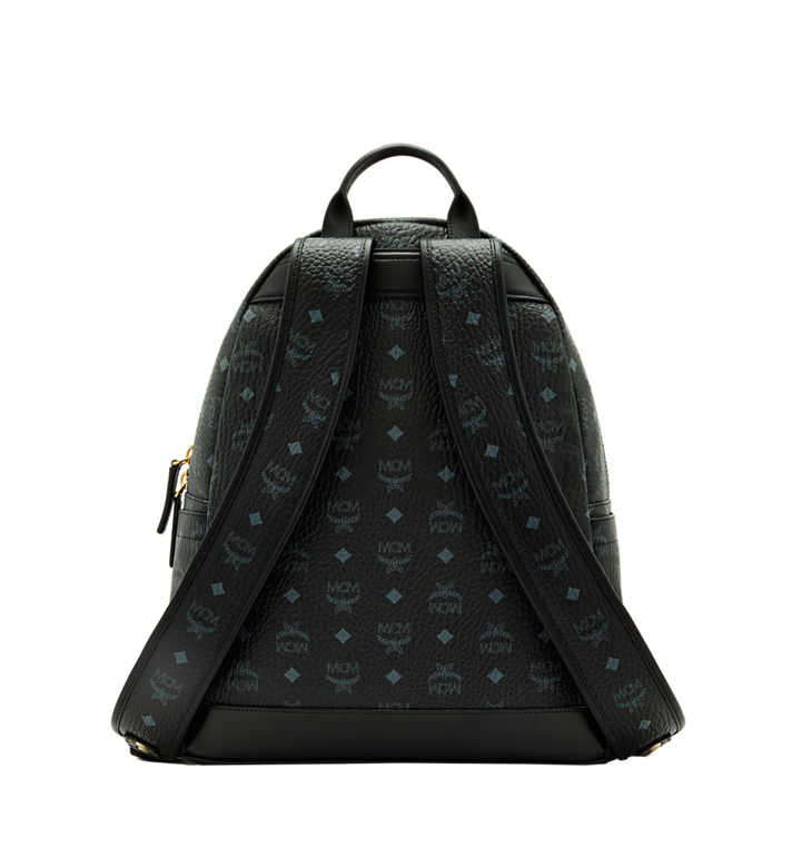 MCM Dual Stark Backpack in Visetos MMK6SVE79BK001 AlternateView4