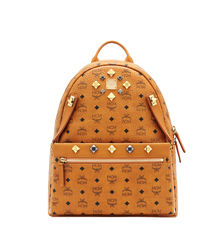 MCM Dual Stark Backpack in Visetos MMK6SVE79CO001 AlternateView