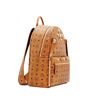 MCM Dual Stark Backpack in Visetos MMK6SVE79CO001 AlternateView2