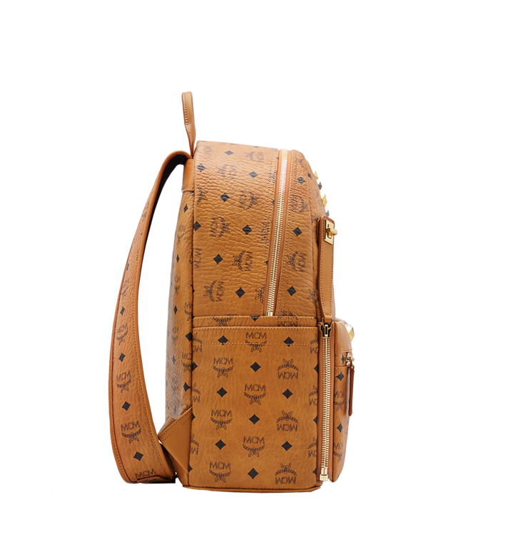 MCM Dual Stark Backpack in Visetos MMK6SVE79CO001 AlternateView3