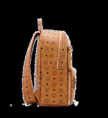 MCM Dual Stark Backpack in Visetos Alternate View 3