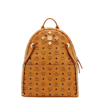 MCM Dual Stark Backpack in Visetos MMK6SVE79CO001 AlternateView5