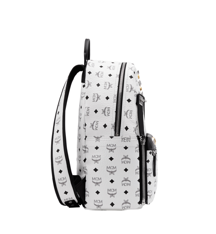MCM Dual Stark Backpack in Visetos Alternate View 3