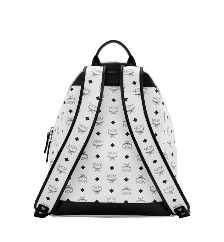 MCM Dual Stark Backpack in Visetos Alternate View 4