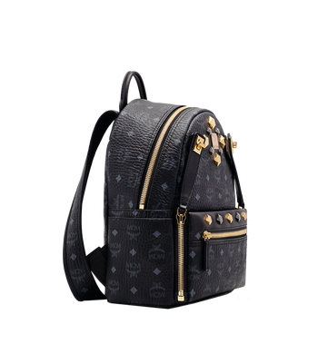 MCM Dual Stark Backpack in Visetos Alternate View 2