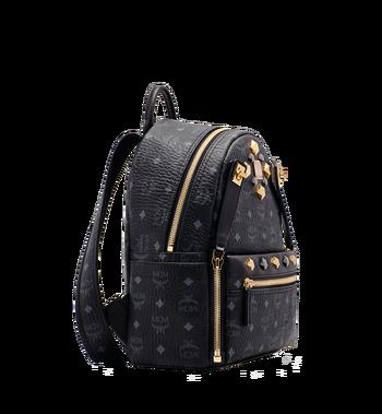 MCM Dual Stark Backpack in Visetos MMK6SVE80BK001 AlternateView2
