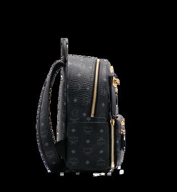 MCM Dual Stark Backpack in Visetos MMK6SVE80BK001 AlternateView3
