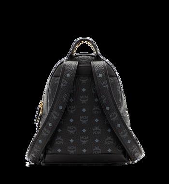 MCM Dual Stark Backpack in Visetos MMK6SVE80BK001 AlternateView4