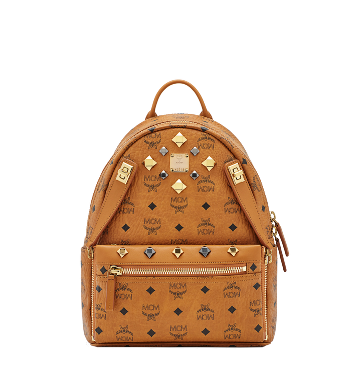 MCM Dual Stark Backpack in Visetos MMK6SVE80CO001 AlternateView