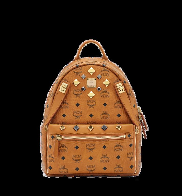 MCM Dual Stark Backpack in Visetos Alternate View