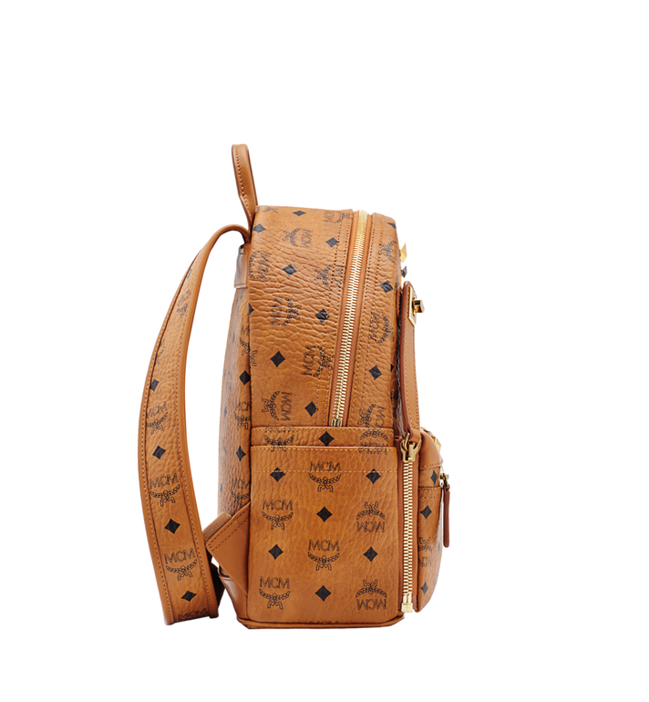 MCM Dual Stark Backpack in Visetos MMK6SVE80CO001 AlternateView3