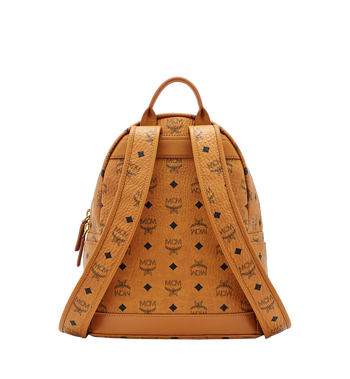 MCM Dual Stark Backpack in Visetos MMK6SVE80CO001 AlternateView4