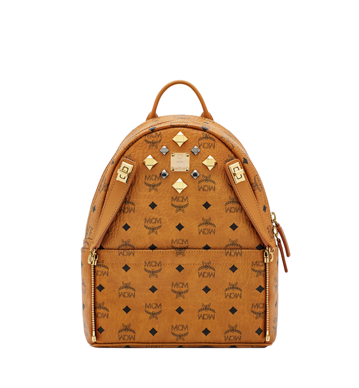 MCM Dual Stark Backpack in Visetos MMK6SVE80CO001 AlternateView5